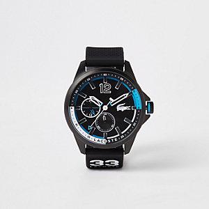 Lacoste – Capbreton – Schwarze Armbanduhr