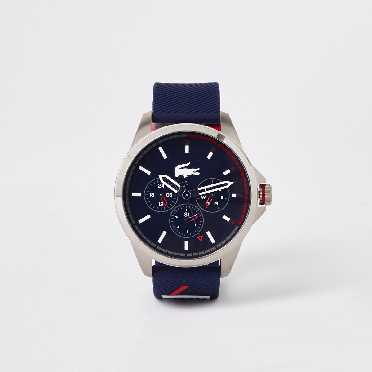 Lacoste navy Capbreton watch