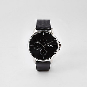 Hugo Boss black stainless steel watch