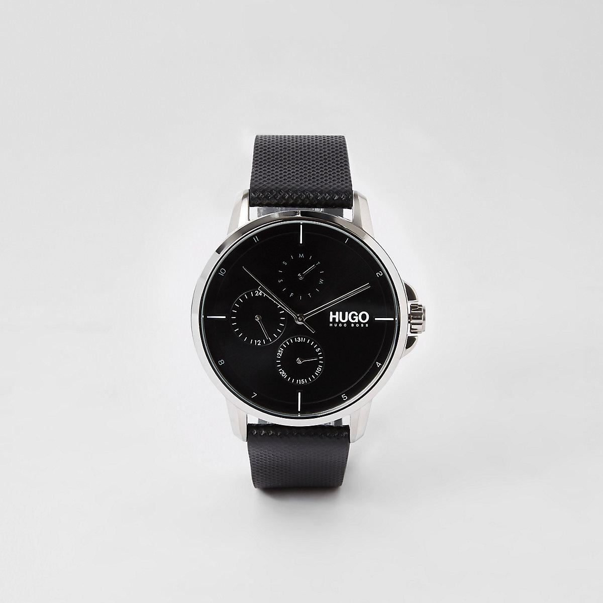 Hugo Boss black stainless steel watch