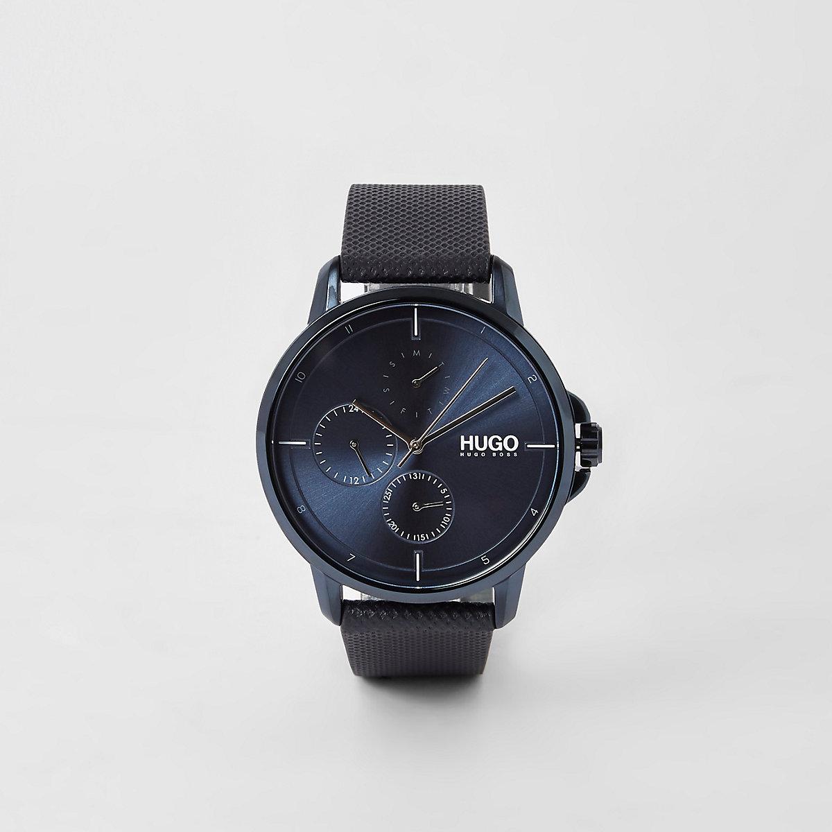 Hugo Boss Focus blue 3 dials watch