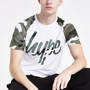 Hype – Weißes T-Shirt mit Print