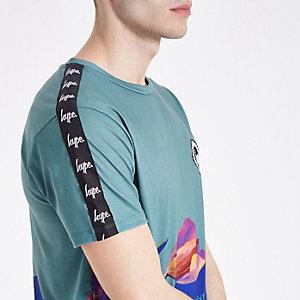 Hype – Blaues T-Shirt mit Print