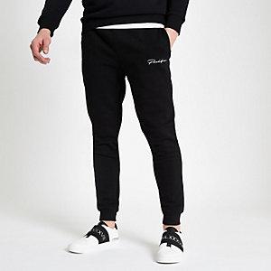 Zwarte 'Prolific' slim-fit joggingbroek