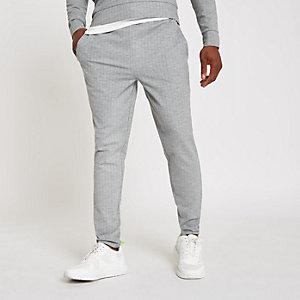 Pantalon de jogging slim gris