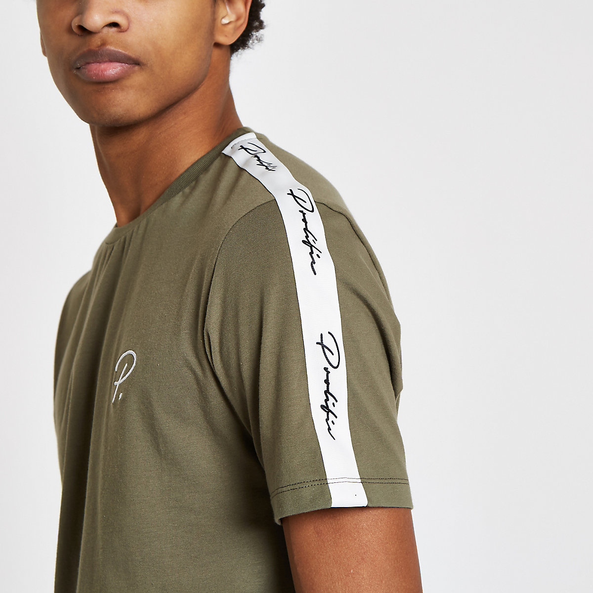 Khaki 'Prolific' short sleeve T-shirt