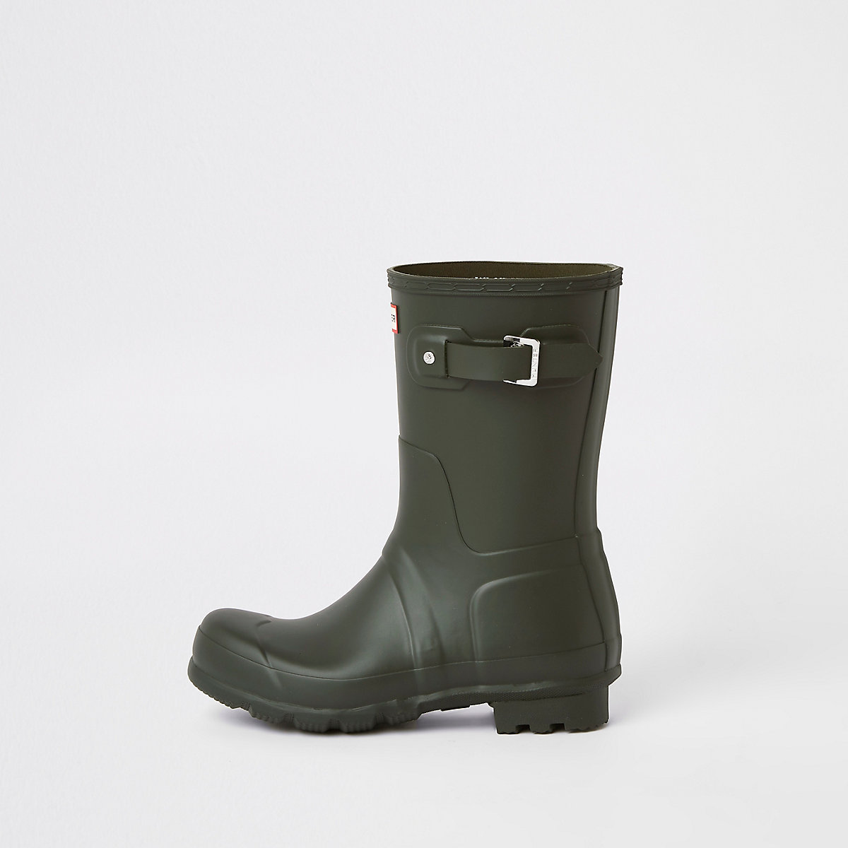 Hunter Original green short rubber boots