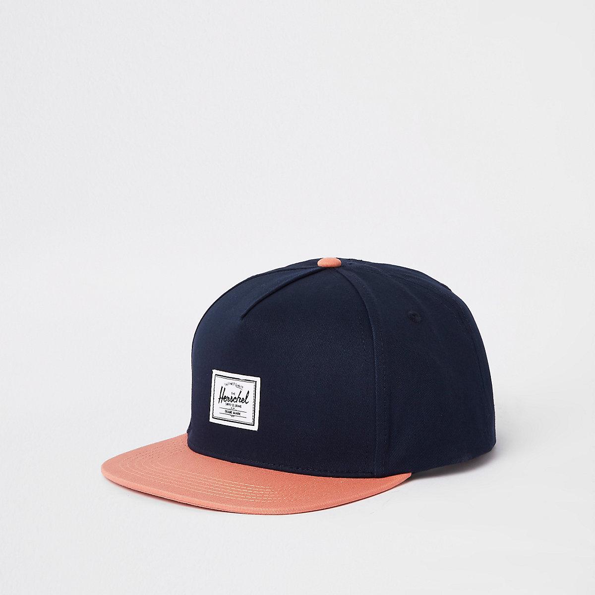 Herschel navy Dean cap - Hats   Caps - Accessories - men c9354a4e632
