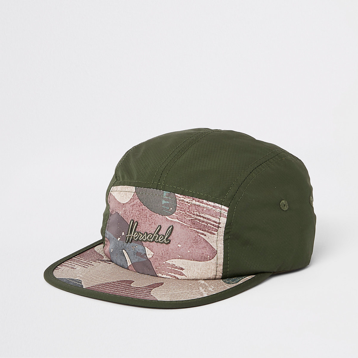 Herschel green Glendale camo print cap - Hats   Caps - Accessories - men 79c4d7f758b