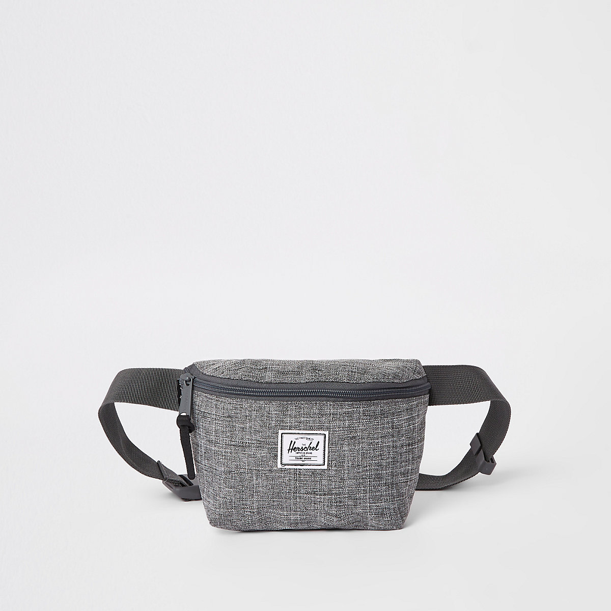 Herschel grey marl Fourteen cross body bag