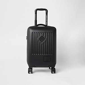 Herschel black trade carry on suitcase