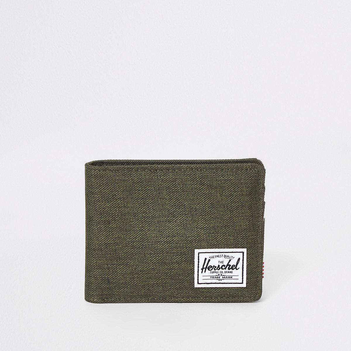 Herschel green roy wallet