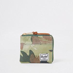 Herschel green Johnny camo wallet