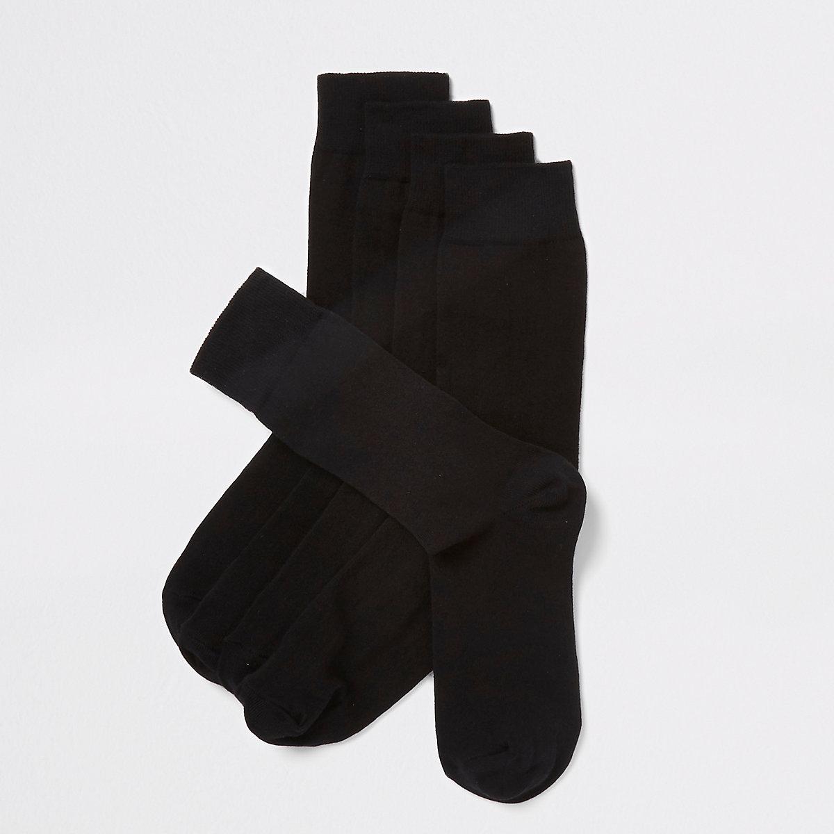Lot de5 paires de socquettes noires