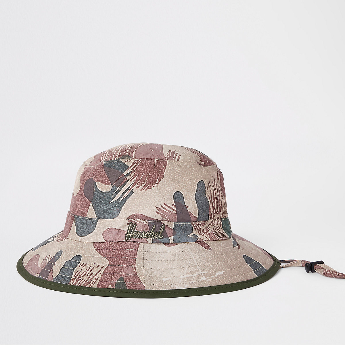 Herschel green Creek camo bucket hat - Hats   Caps - Accessories - men 346fd63688