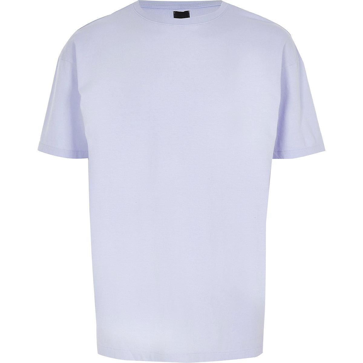 Purple oversized T-shirt