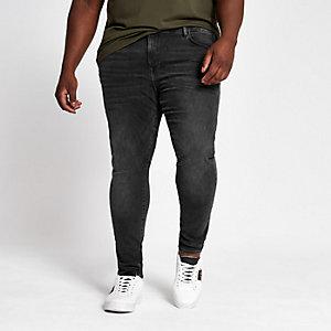 Big and Tall – Jean ultra skinny noir