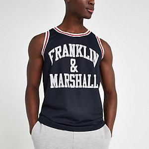 Franklin & Marshall – Trägertop mit Mesh-Einsatz