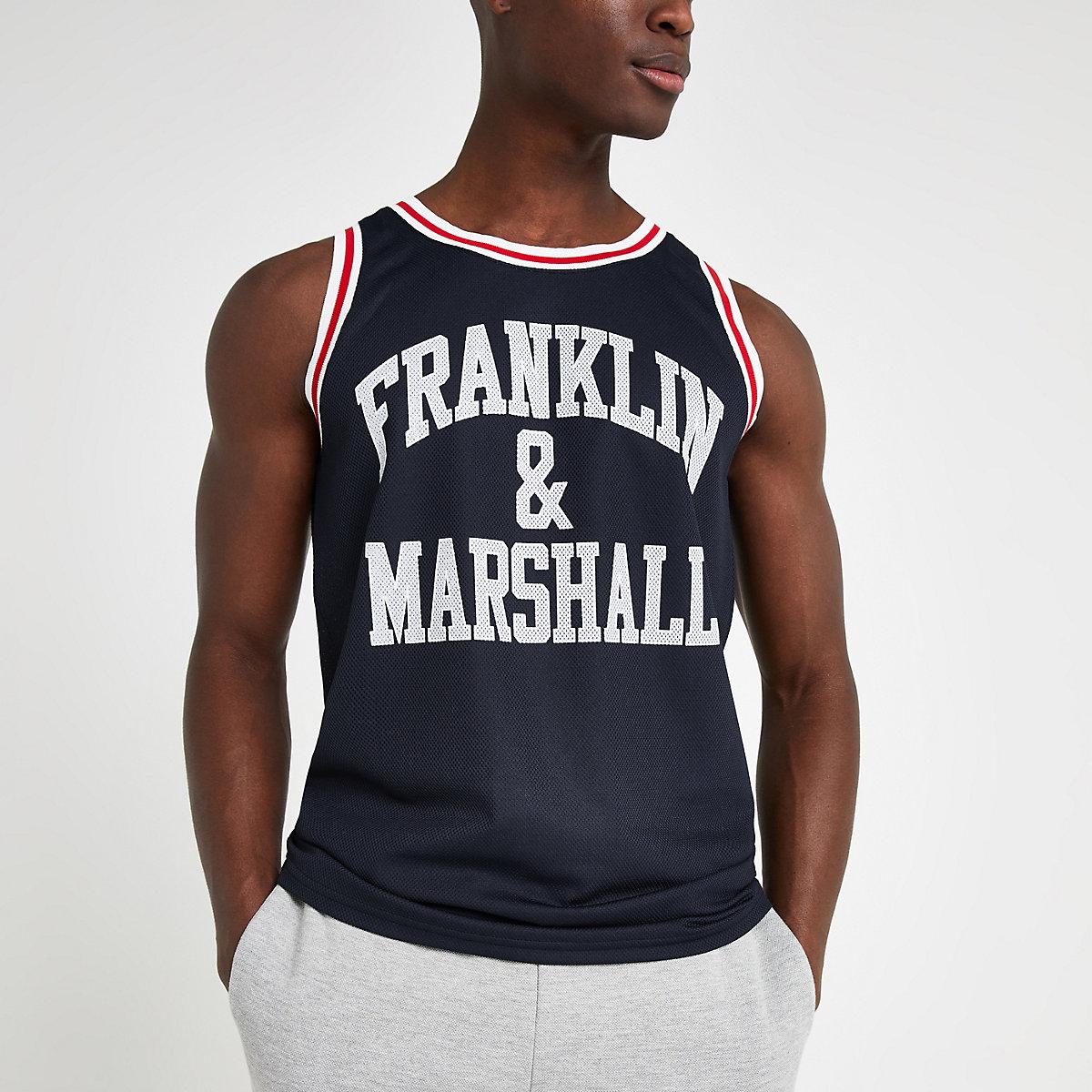 Franklin and Marshall mesh tank