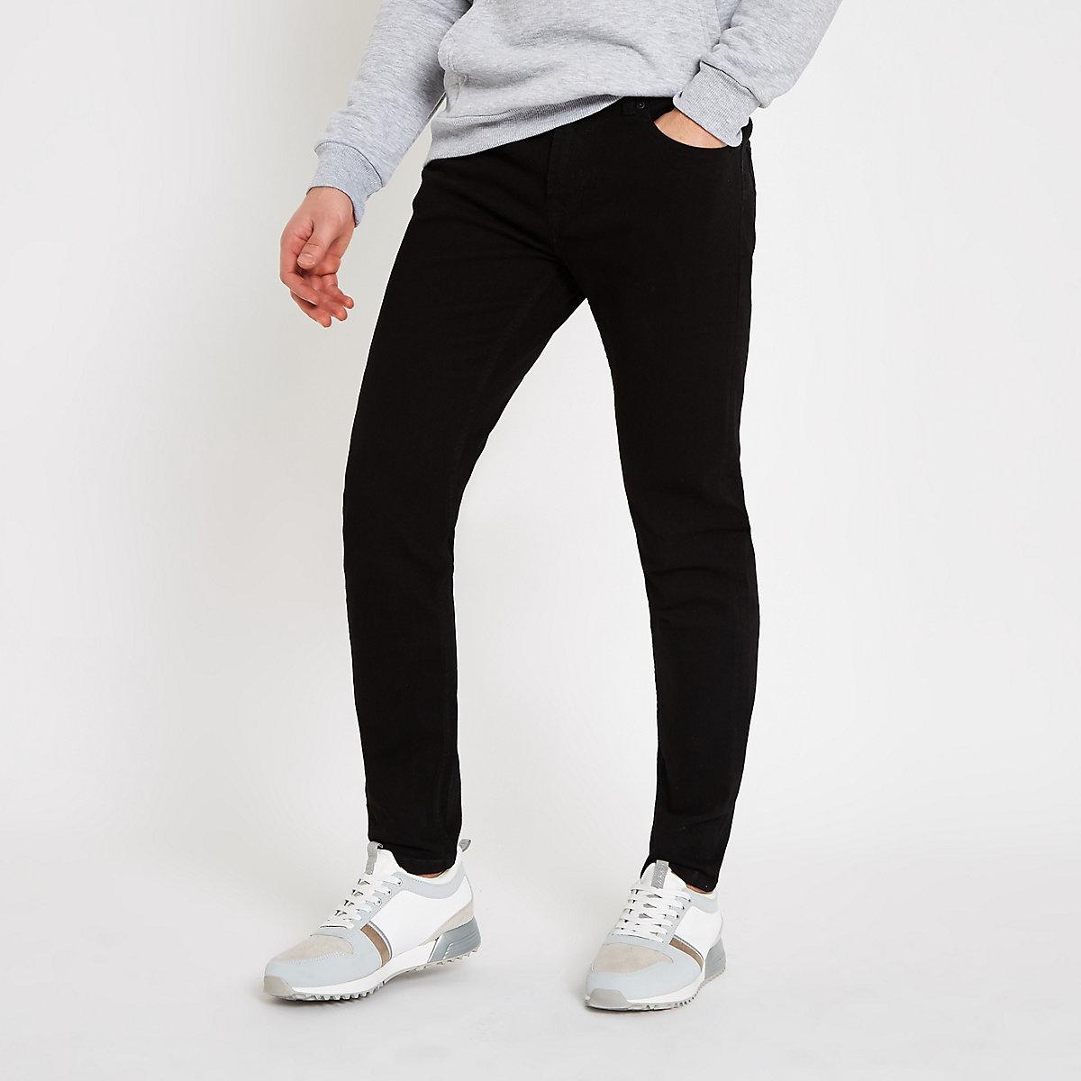Only & Sons – Schwarze Skinny Fit Jeans