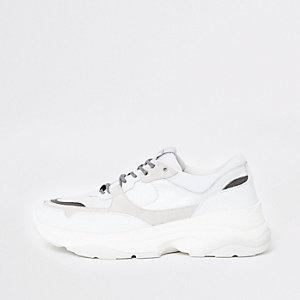 Selected Homme – Weiße grobe Sneaker