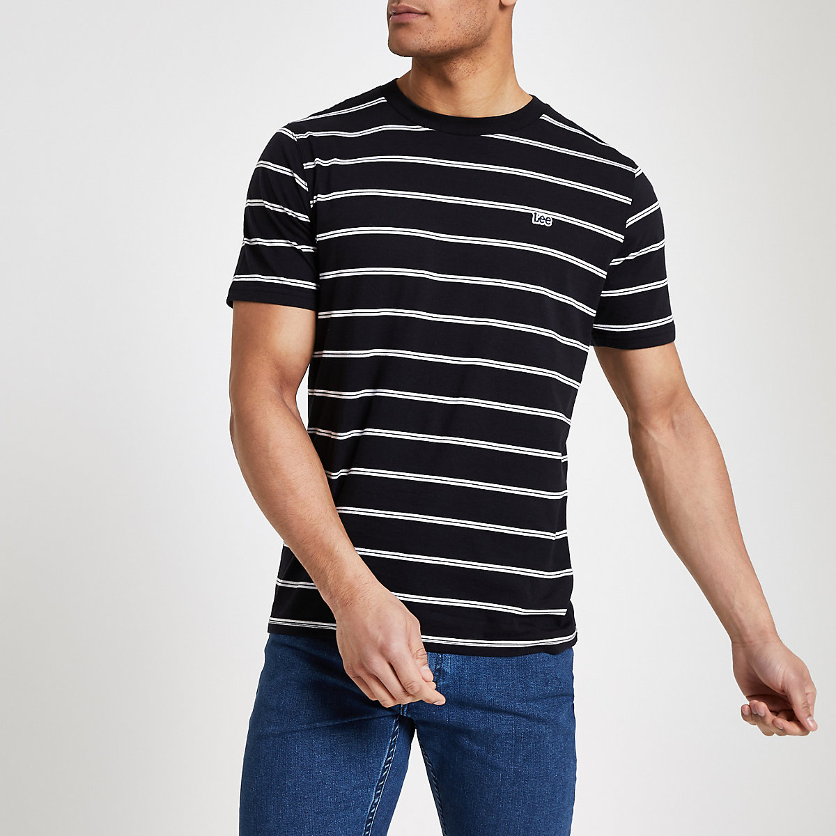 Lee black stripe T-shirt