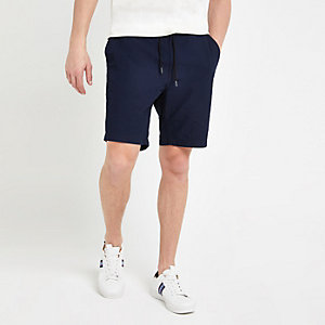 Lee dark blue drawstring shorts