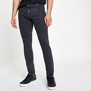 Lee grey wash Malone skinny fit jeans