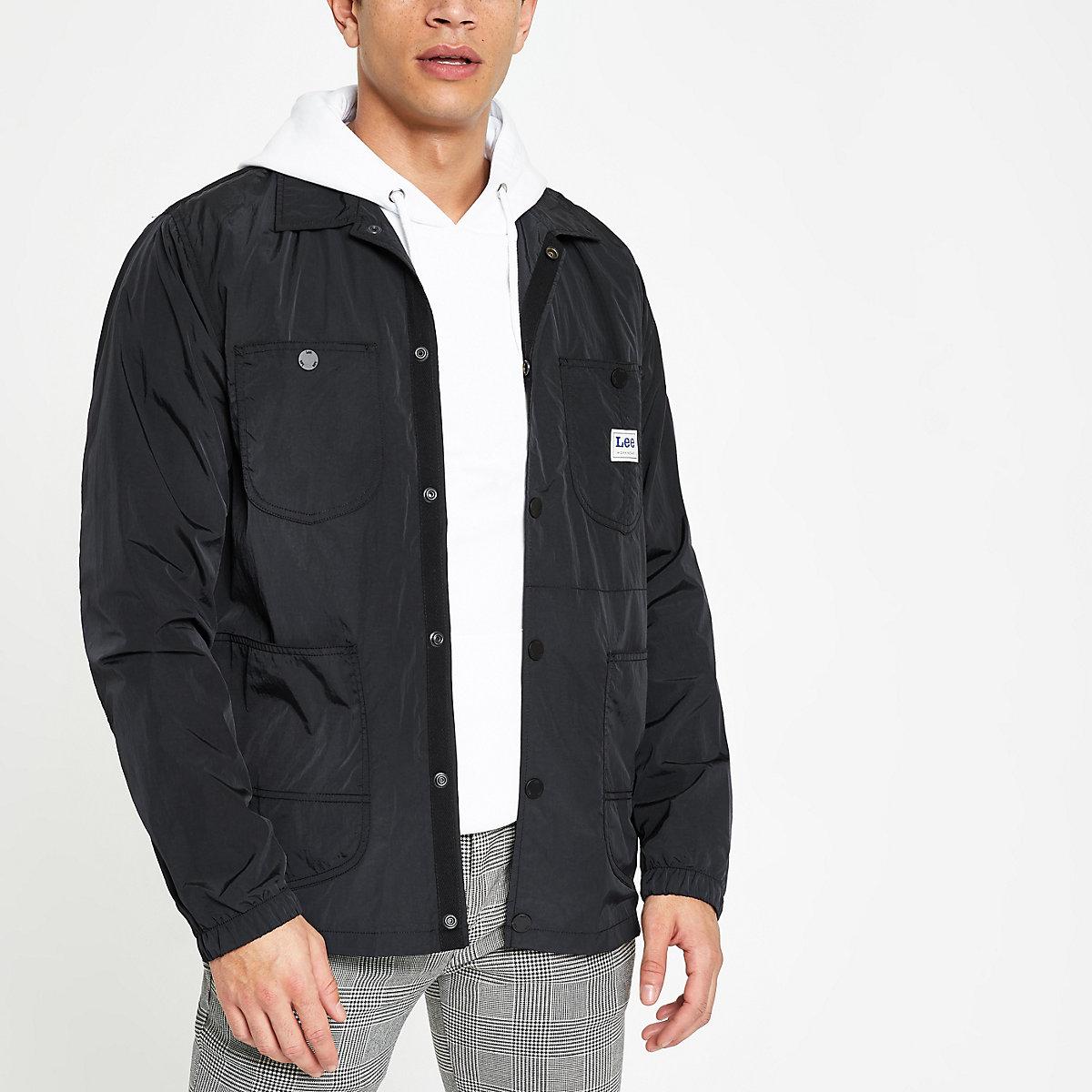 Lee black loco jacket