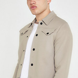 Jack and Jones stone trucker jacket
