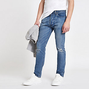 Levi's light blue skinny jeans