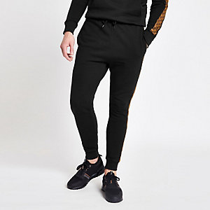 Criminal Damage check panel joggers