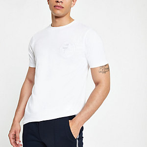 T-shirt slim « Prolific » blanc