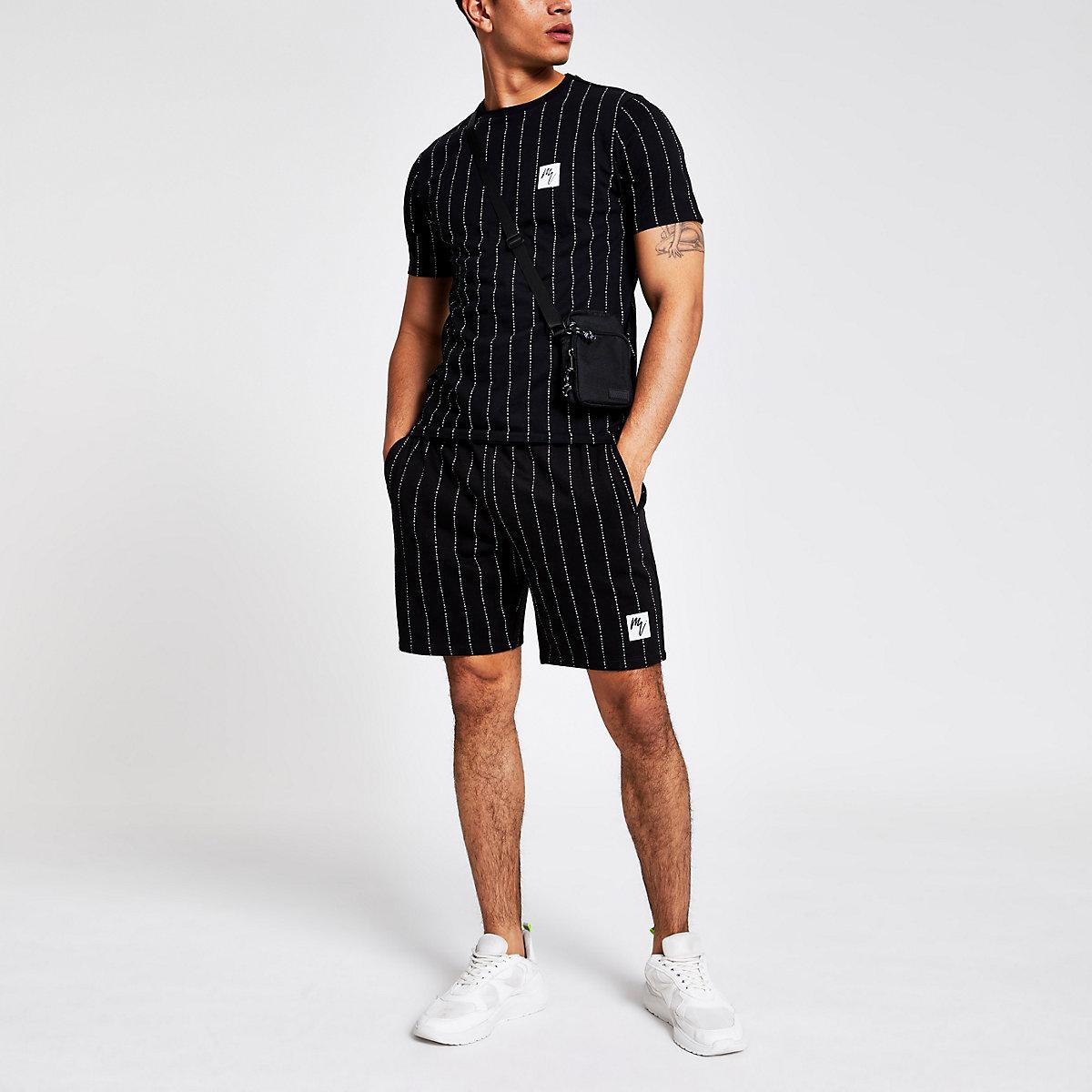 37977d03626ada River Island maison riviera stripe slim fit t-shirt at £15