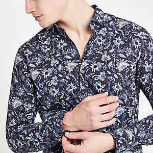 Jack & Jones floral print shirt