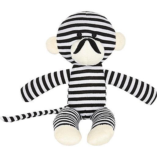 Mini boys black stripe monkey