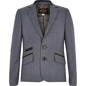 Veste de costume bleu marine pour garçon
