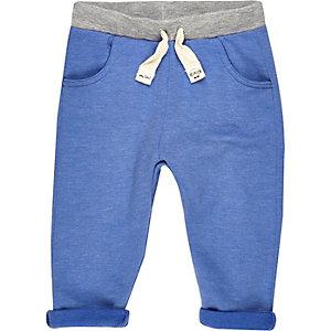 Blauw joggingbroekje voor mini boys