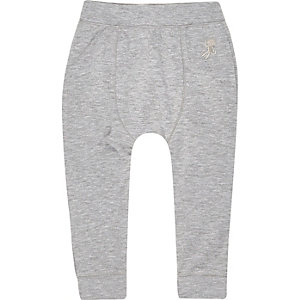 Mini boys grey skinny joggers