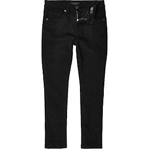 Jean skinny stretch Sid noir pour garçon