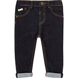 Mini boys dark wash skinny jeans
