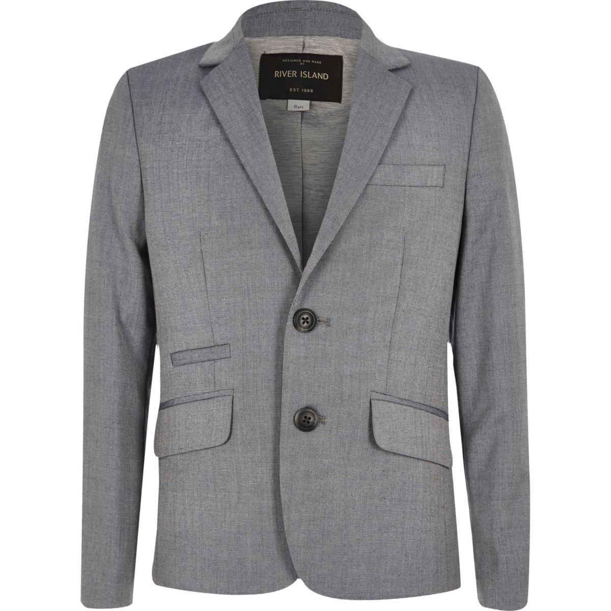 veste de costume cintr e gris clair pour gar on tenues habill es promos gar on. Black Bedroom Furniture Sets. Home Design Ideas