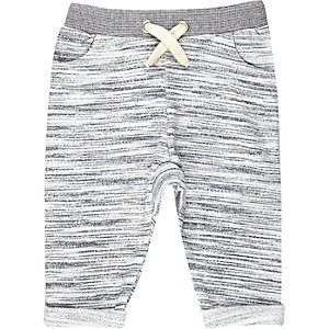 Mini boys grey joggers
