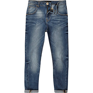 Tony – Legere Jeans in mittelblauer Waschung