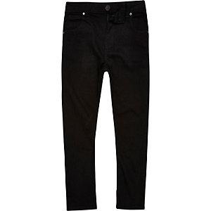 Tony - Zwarte slouch-fit jeans voor jongens