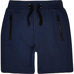 Mini boys navy shorts