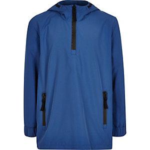 Boys blue shell jacket