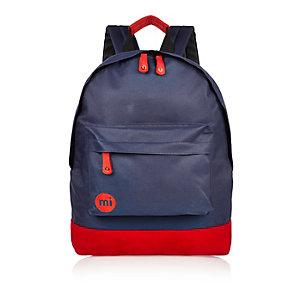 Boys navy Mi-Pac classic backpack