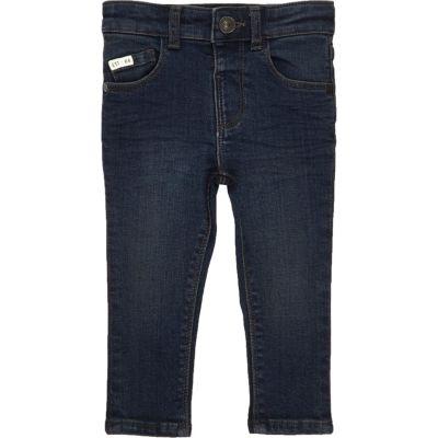 Sid indigo wash skinny jeans voor mini boys