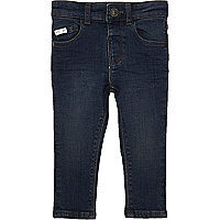 Mini boys indigo wash Sid skinny jeans